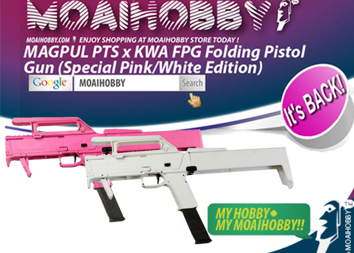 magpul pts fpg white pink editions back popular airsoft
