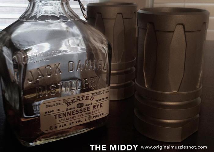 MuzzleShot Middy Tactical Rocks Glass