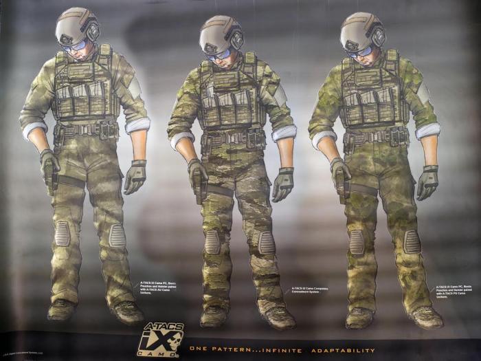 A-TACS Camo Patterns
