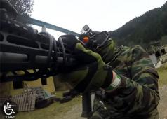 Novritsch: Whelelchair Airsoft Player Tommy