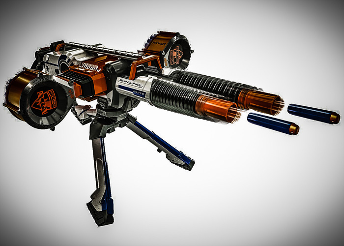 turn nerf into airsoft gun - Google Search | Airsoft, BB, Nerf | Pinterest