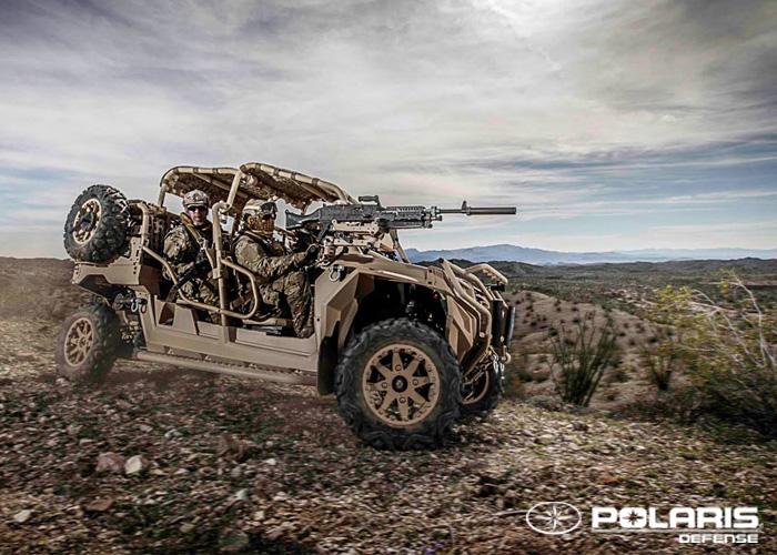 Polaris Defense MRZR 4 ATV