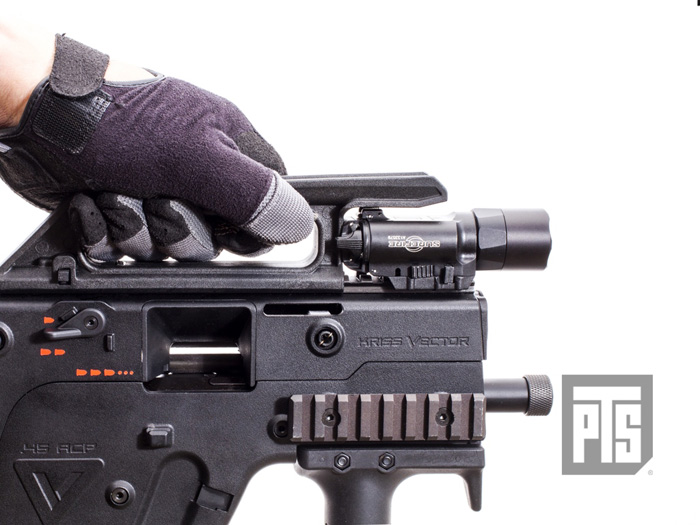 New PTS Polymer Carry Handle - Compact   Popular Airsoft