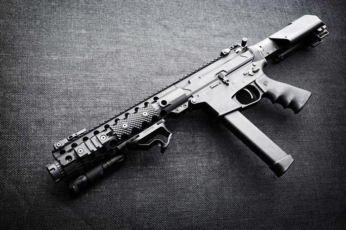 Wanted For Airsoft: QuarterCircle 10 Glock AR Pistol Gas