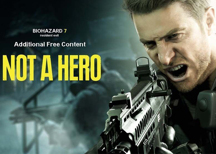 "Resident Evil 7: Biohazard ""Not A Hero"" DLC"