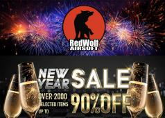 New Year Sale At RedWolf Airsoft
