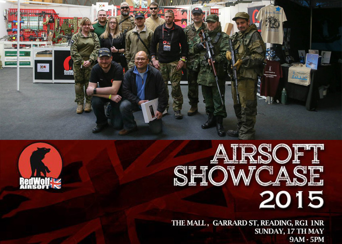 RedWolf Airsoft UK Airsoft Showcase Zed Adventures The Mall 2015