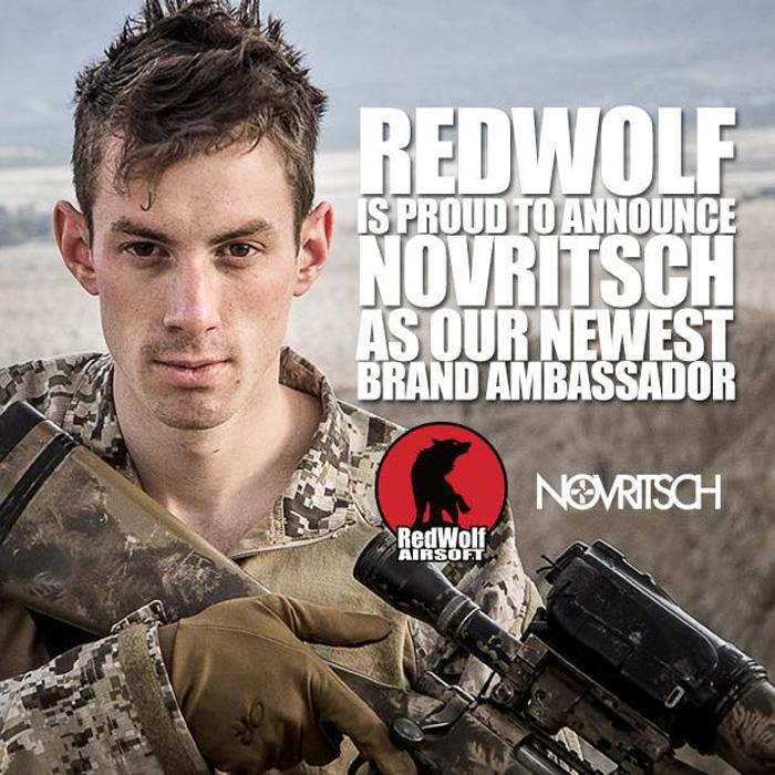 Novritsch Is A RedWolf Brand Ambassador   Popular Airsoft