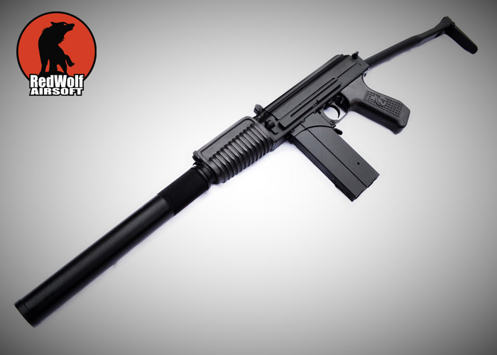 RedWolf Airsoft NPOAEG 9A-91 w/ Silencer