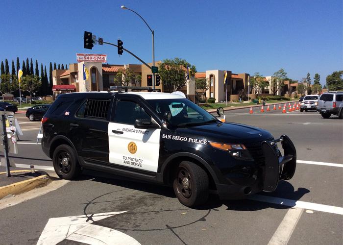 San Diego Police Interceptor