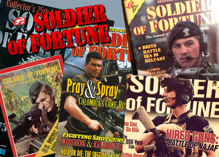 Soldier of Fortune Magazine Covers