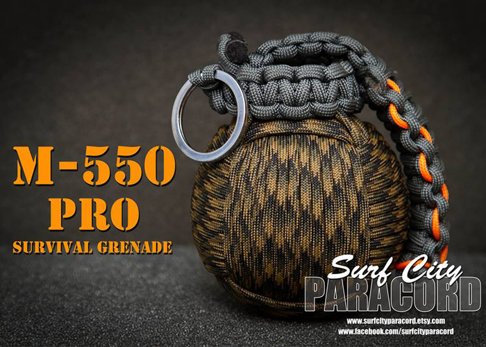 m 550 pro paracord survival grenade popular airsoft