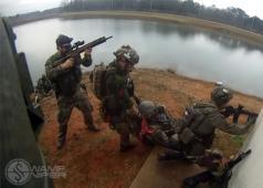 Swamp Sniper Airsoft Sniper Gameplay at Iron Horse 2