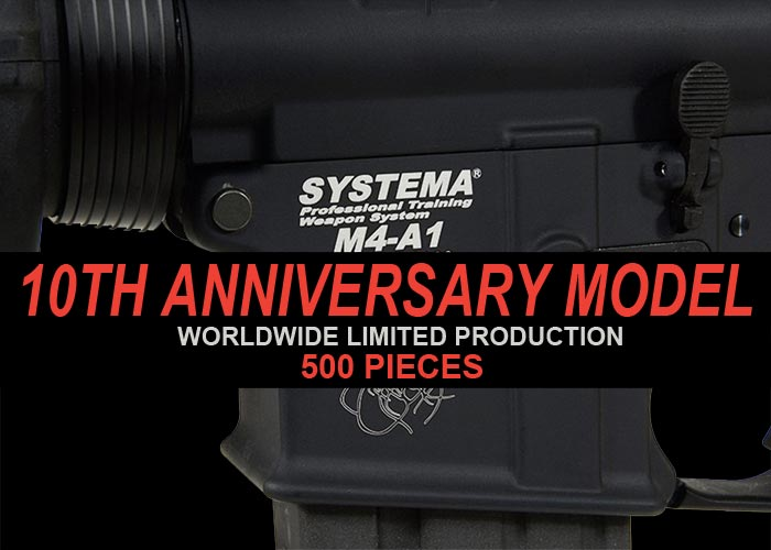 Systema Celebrates 10 Years Of The PTW With Limited Edition
