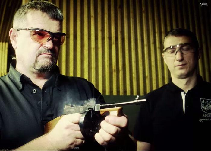 Vickers Tactical/Tac TV Miniature Guns that Actually Shoot