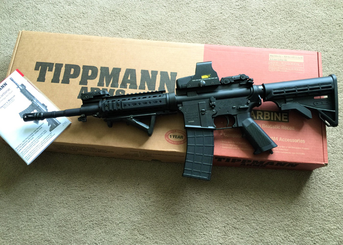 Tippmann M4 CO2/HPA Review Part 1