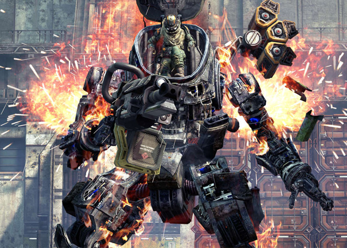 Titanfall Pilot Ejecting