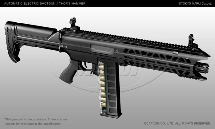 thor s hammer sgr 12 m4a1 carbine mws at the 56th shizuoka hobby