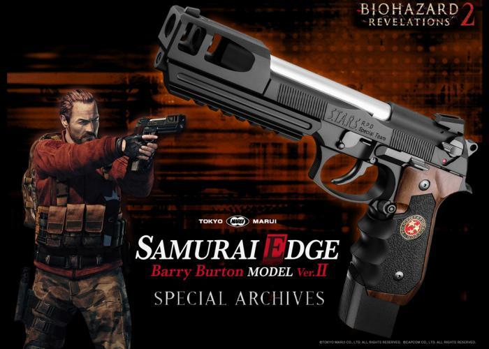 Tokyo Marui Samurai Edge Barry Burton Model Ver. II Archives