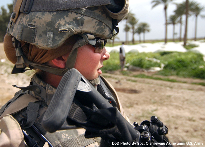 The U.S. Military Opens All Combat Roles To Women