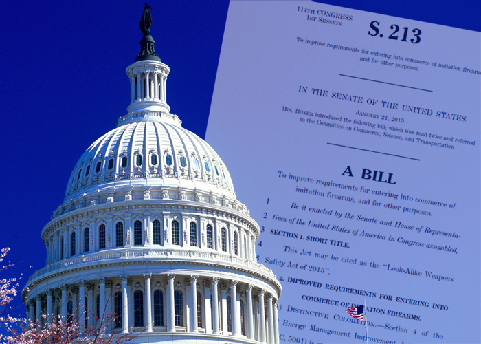 """Senate Bill 213 """"Look-Alike Weapons Safety Act of 2015"""""""