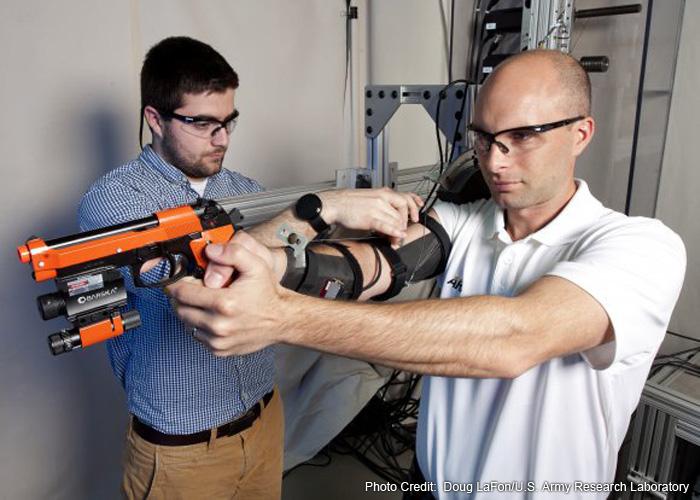 U.S. Army MAXFAS Exoskeleton
