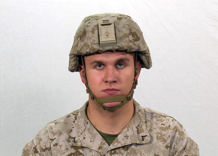 USMC Enhanced Combat Helmet (ECH) Training