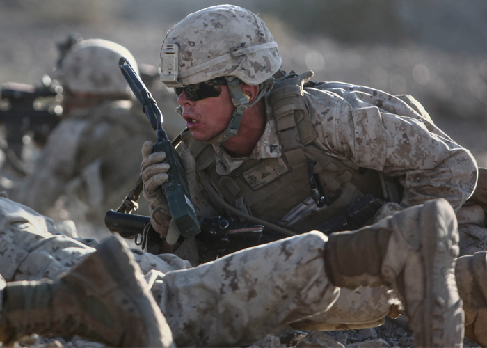 Platoon Attack U.S. Marine Corps photo by Cpl. Seth Starr