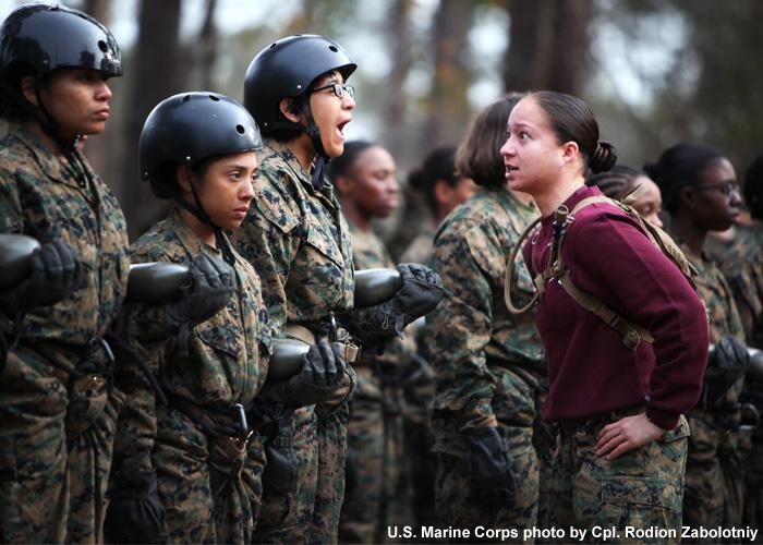 Sgt. Angela Arounerangsy, Drill Instructor USMC