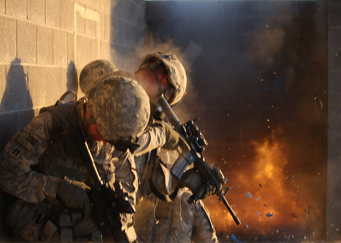 Fort Bliss Urban Combat Exercise (Wikipedia)