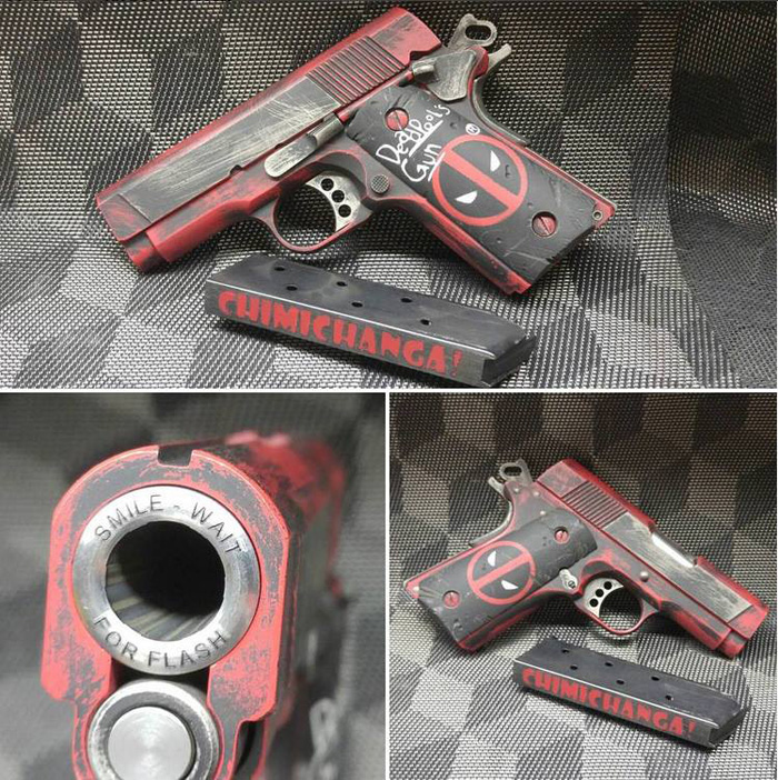 Whiskey Tango Firearms Deadpool Colt 1911 Popular Airsoft