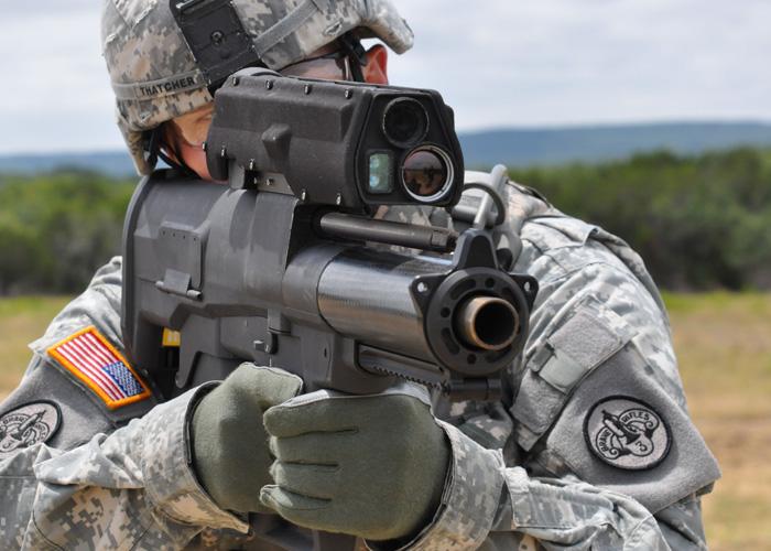 XM25 (U.S. Army Materiel Command Photo)