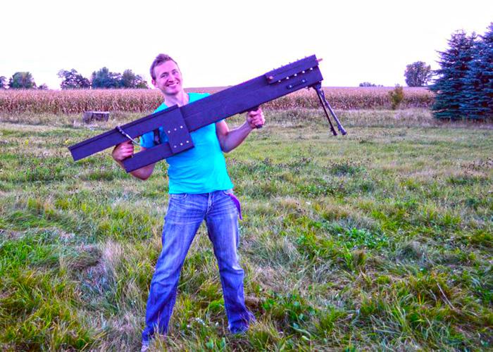 Ziggy Zee with 250-Pound DIY Railgun