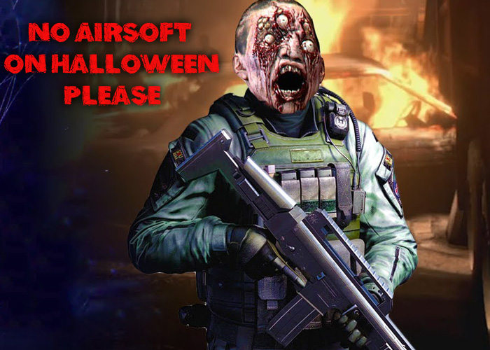 No Airsoft On Halloween 2015