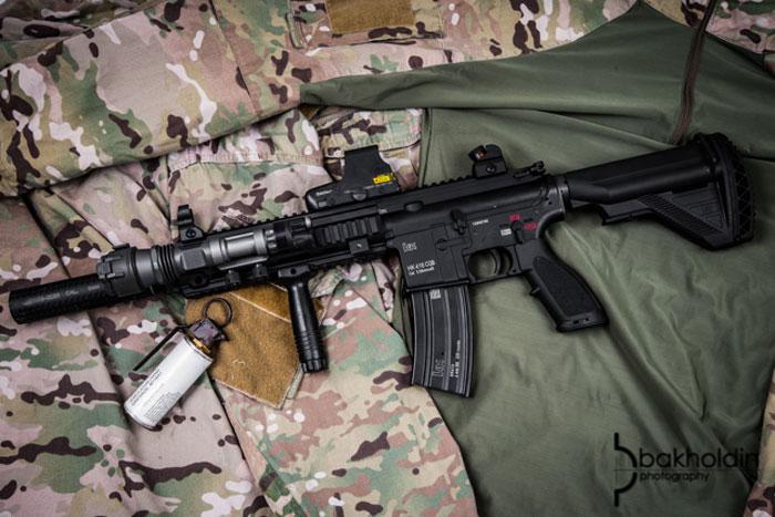 Elite Force HK416 Pr0n By Dave Bakholdin