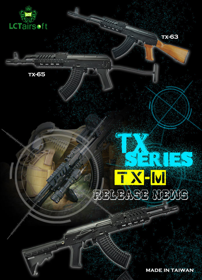 New LCT Airsoft TX Series Release | Popular Airsoft: Welcome