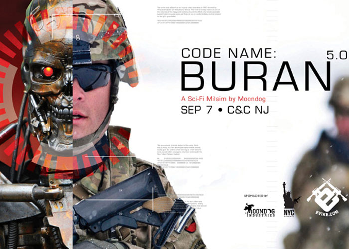 NYC Airsoft Code Name Buran 5.0