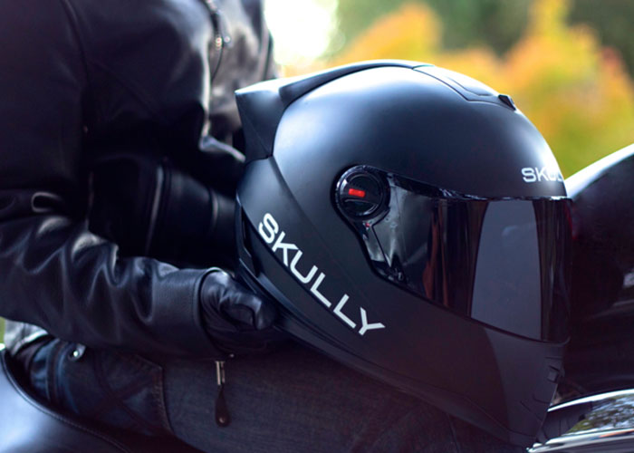 Skully P1 Helmet Gives Us An Idea Of The Future Tactical