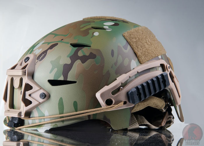RedWolf Airsoft FMA EXF BUMP Helmet In Multicam