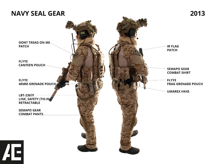 Extrêmement ACE Gear Gallery: Navy SEAL Gear 2013 | Popular Airsoft YS66