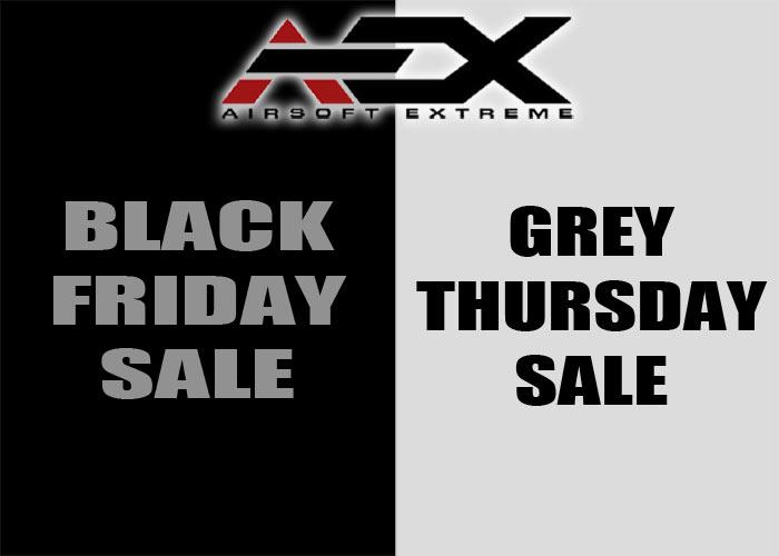 aex black friday grey thursday sale popular airsoft. Black Bedroom Furniture Sets. Home Design Ideas