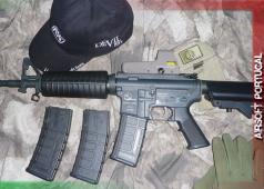 Airsoft Portugal ASG AEG M15A4 Assault Rifle Review