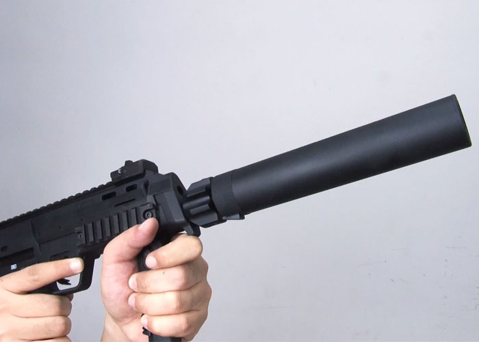 Angry Gun MP7 Silencer for WE SMG-8 | Popular Airsoft: Welcome To