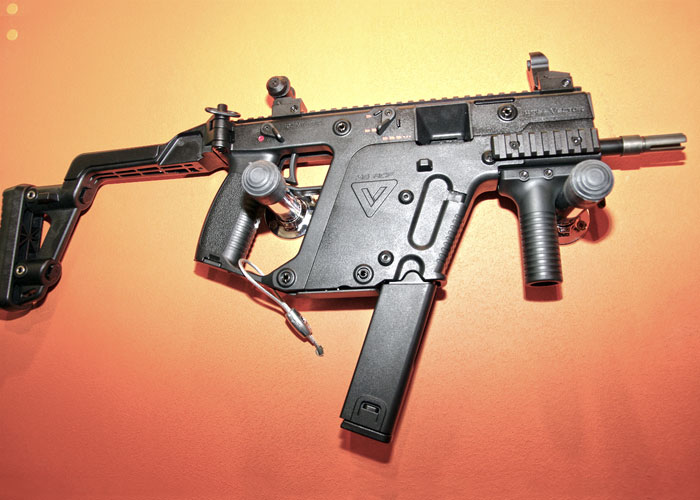 Prototype of the Angry Gun KRISS Vector CO2 Magazine
