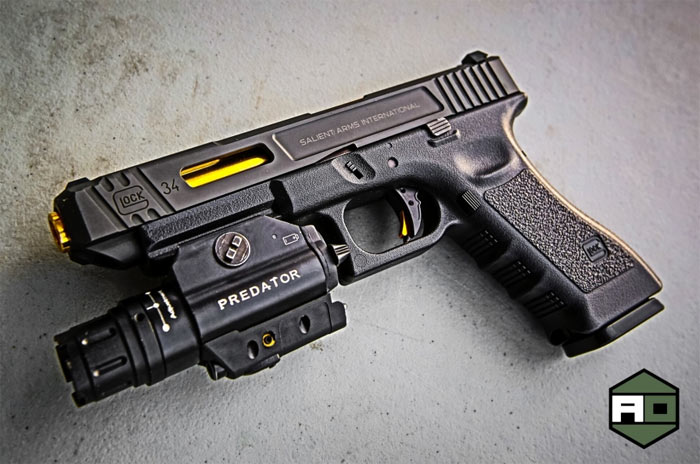 Gun Spotlight: Custom SAI Glock 34 GBB | Popular Airsoft