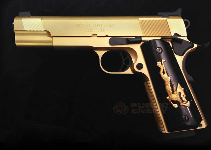 Airsoft Surgeon Face Off Gold  Face Off Movie Guns