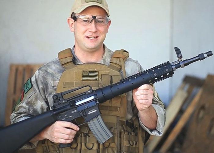 ASGI Classic Army M15A4 SPR AEG