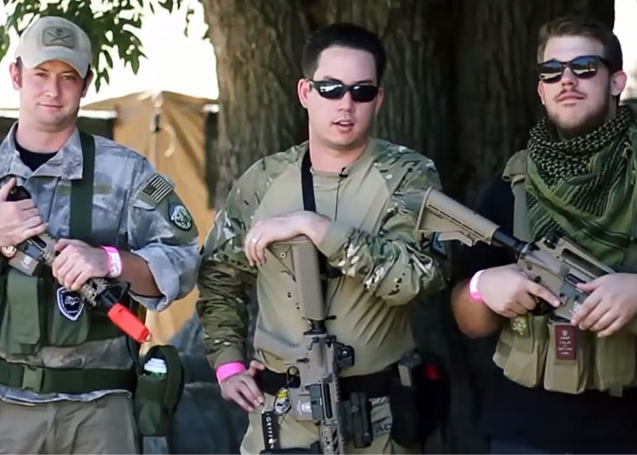 Airsoft GI - Gryffon Gear and G&G GBB M4s at Hollywood Sports Park Test With Tim, Bob, and Josh