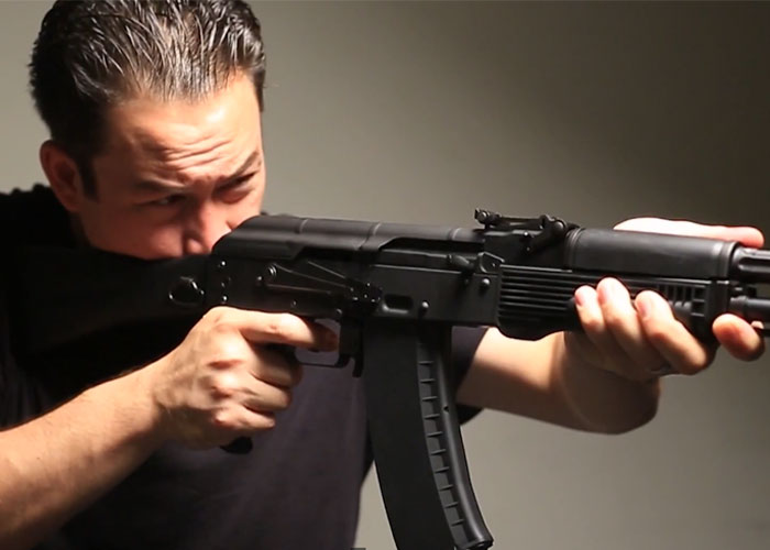 Airsoft GI: KWA AKG-74M GBB Rifle