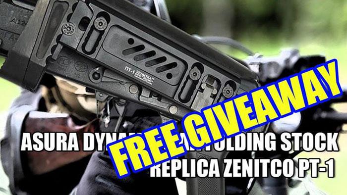 Want To Win A Zenitco PT-1 Replica?   Popular Airsoft